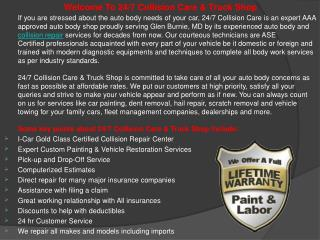 247 collision care