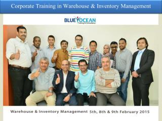 Corporate Training in Warehouse & Inventory Management