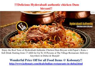 Indian Restaurants In Dubai