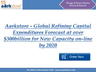 Aarkstore - Global Refining Capital Expenditures Forecast