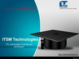 ITIL Intermediate Training and Certification