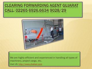 Clearing forwarding agent mumbai Gujarat,  custom clearing operators mumbai