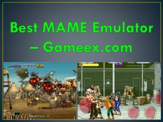 Best MAME Emulator – Gameex.com