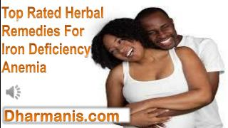 Top Rated Herbal Remedies For Iron Deficiency Anemia