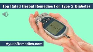 Top Rated Herbal Remedies For Type 2 Diabetes