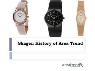 Skagen History of Area Trend