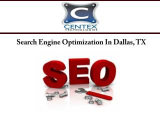 Search Engine Optimization In Dallas, TX