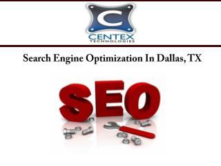 Search Engine Optimization In Dallas, TX