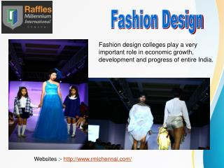Fashion and Interior Design Courses in Chennai