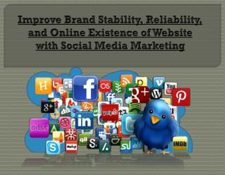 Online Existence with Social Media Marketing