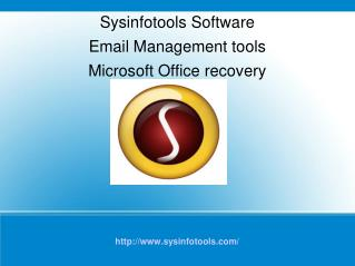 Email Management tools | Microsoft Office recovery