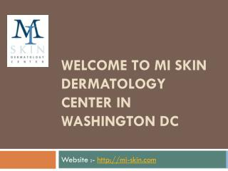 Dermal Fillers Washington DC