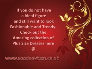 Get Fashionable Vintage Dresses Online for Plus size women