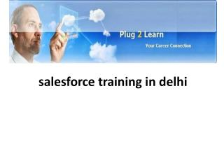 salesforce training in delhi