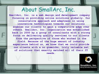 SmallArc, Inc. - IT Consulting Services Company