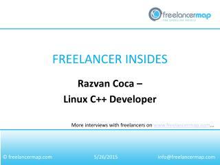 Razvan Coca – Linux C   Developer