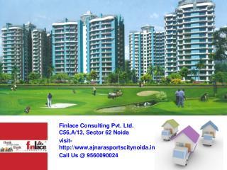 Ajnara Sports City Noida Call@ 9560090024