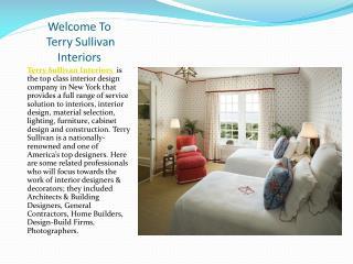 Interior Design Services New York