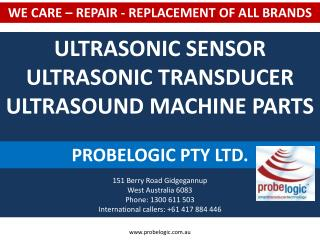 Ultrasonic Sensor, Ultrasonic Transducer, Ultrasound Machine
