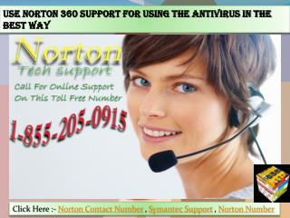Use Norton 360 Support for Using the Antivirus in The Best W