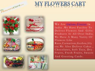 same Day Flowers Delivery - My Flowers Cart