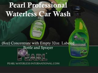 Pearl Professional Waterless Car Wash    (8oz) Concentrate w