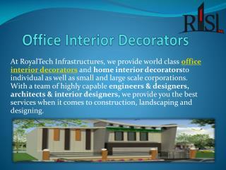 Office Interior Decorators in Uttar Pradesh