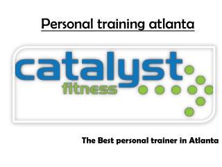 personal trainer Atlanta