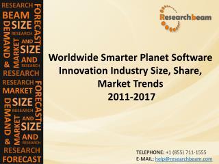 Smarter Planet Software Innovation Market 2011-2017