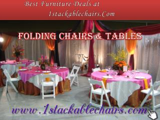 Best Furniture Deals at 1stackablechairs.Com
