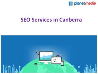 SEO Services in Canberra