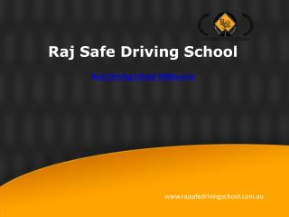 Driving school in mentone