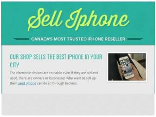 Sell Old Cell Phones