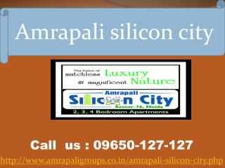 Amrapali Silicon City Noida