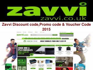 Zavvi Discount code,Promo code & Voucher Code 2015