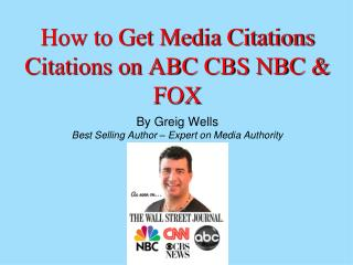 How to Get Media Citations For Authority in Your Niche