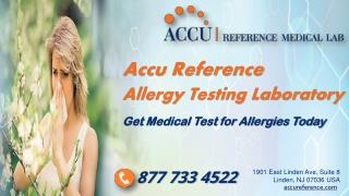 Medical Test for Allergy in Linden