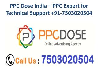 CONTACT  91-7503020504 PPC EXPERT FOR TECH SUPPORT