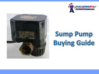 Sump Pump Buying Guide for Boston Residents