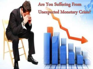 1 Week Loan To Relieve Temporary Fiscal Stress