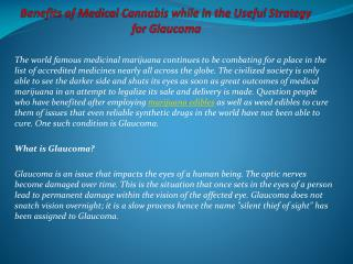 Benefits of Medical Cannabis while in the Useful Strategy fo