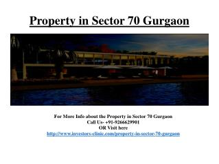@9266629901 - For booking property in sector 70 gurgaon