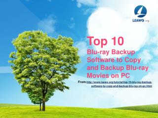 Top 10 Blu-ray Backup Software to Copy and Backup Blu-ray Mo