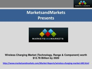 Wireless Charging Market by Technology, Range & Component