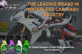 PEARL WATERLESS CAR WASH PRODUCTS SHIPPED AROUND THE GLOBE