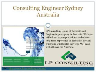 Consulting Engineer Sydney Australia