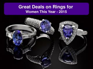 Great Deals on Rings for Men & Women This Year