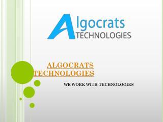 Algocrats Technologies