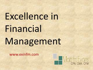 Basic Financial Service By Exinfm