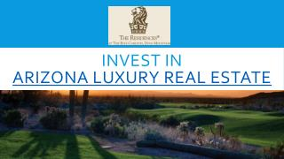 Arizona Luxury Real Estate